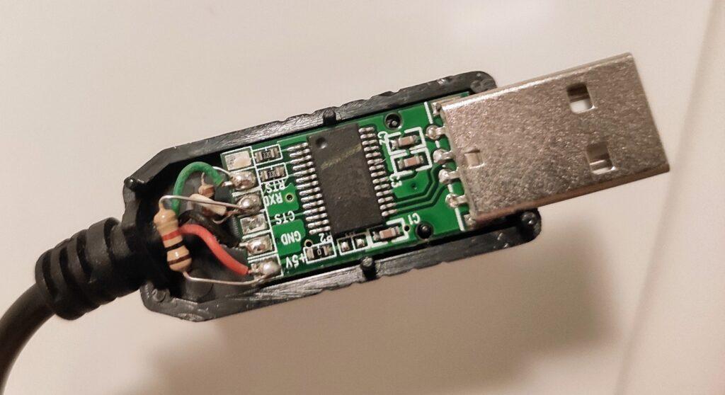 DSMR pull-up resistor
